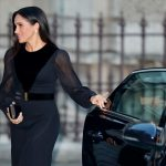 Meghan Markle Kate Middleton news Duchess Meghan impressed the public by closing her own car door (ImaMeghan Markle Kate Middleton news Duchess Meghan impressed the public by closing her own car door (Image GETTY)ge GETTY)