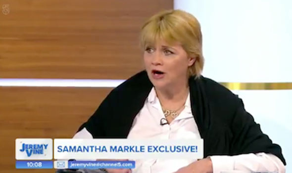 Meghan Markle Samantha told Jeremy Vine their father had two heart attacks before the wedding (Image CHANNEL 5)