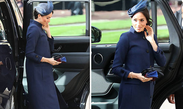 Meghan Markle Twitter uses were quick to speculate the Duchess might be pregnant Image GETTY PA