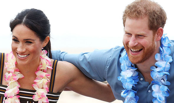 Meghan Markle and Prince Harry are back in Sydney for a colourful event at Bondi beach Image Getty