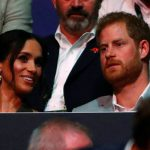 Meghan Markle and Prince Harry at the closing ceremony of Invictus Game Image REUTERS