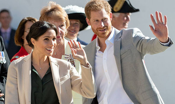 Meghan Markle and Prince Harry kick off their royal tour later this month (Image GETTY)