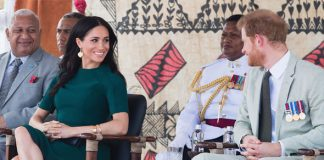 Meghan Markle and Prince Harry on tour in Fiji Image GETTY