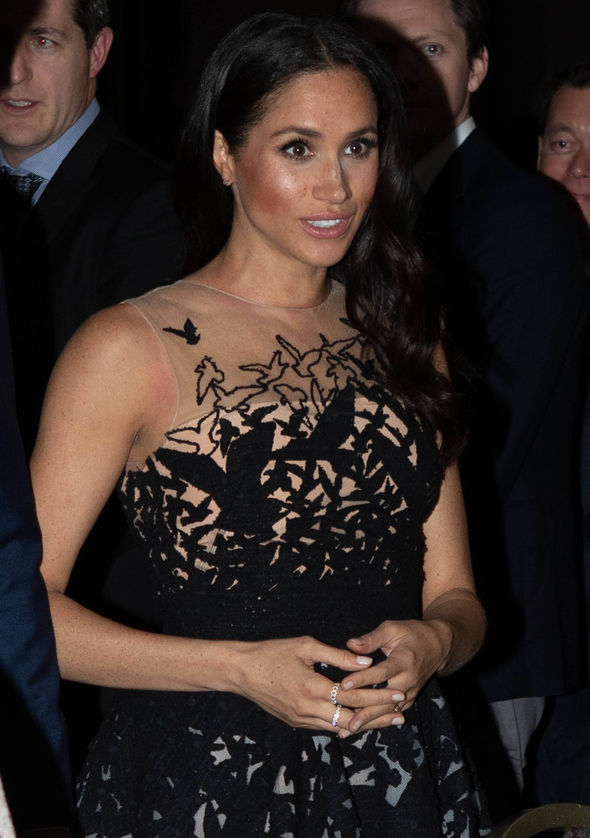 Meghan Markle at the Australian Geographic Society Awards on Friday Image WireImage