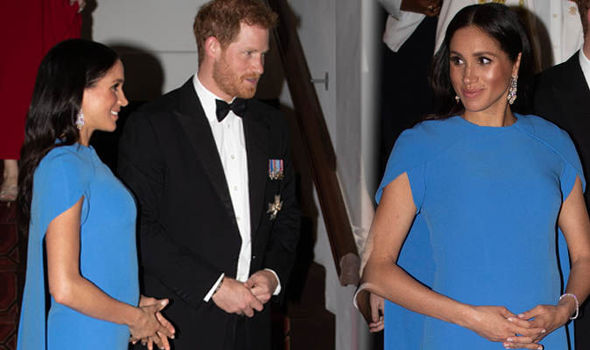 Meghan Markle due date Meghan is due in the spring of 2019 Image GETTY