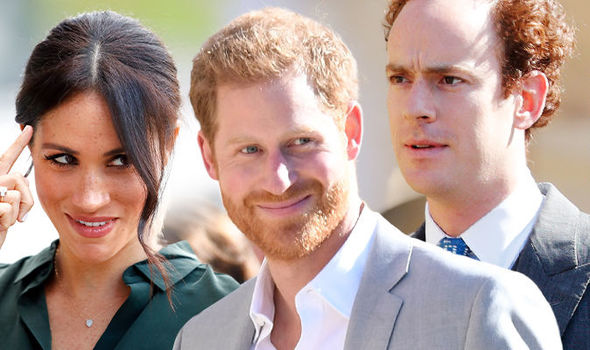 Meghan Markle has allegedly influenced Prince Harry to drop his old friends Image GETTY