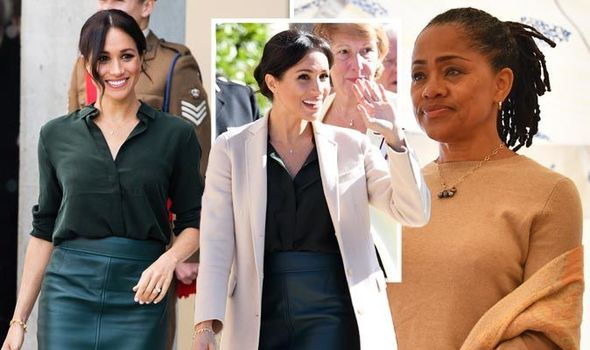 Meghan Markle news The Duchess of Sussex referred to her mum Doria Ragland on the royal visit (Image GETTY)