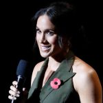 Meghan Markle said she spoke to veterans and families during the games Image REUTERS