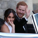 Meghan Markle showed off the same ring on her Royal Wedding day Image REUTERS PA