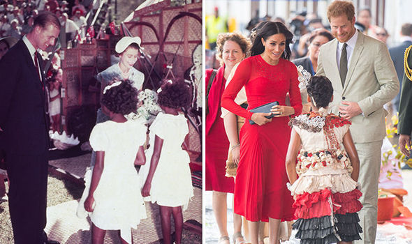 Meghan Markle vs Queen in Australia tour The two trips are 64 years apart Image Getty