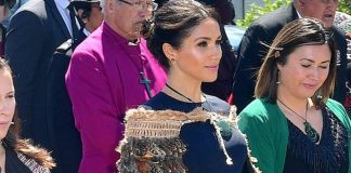 Meghan Markle wears a necklace with a very special meaning on the final day of the royal tour Photo C GETTY