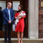 Meghan and Harry are likely to introduce their baby on the steps of Lindo Wing like Kate and William Image GETTY