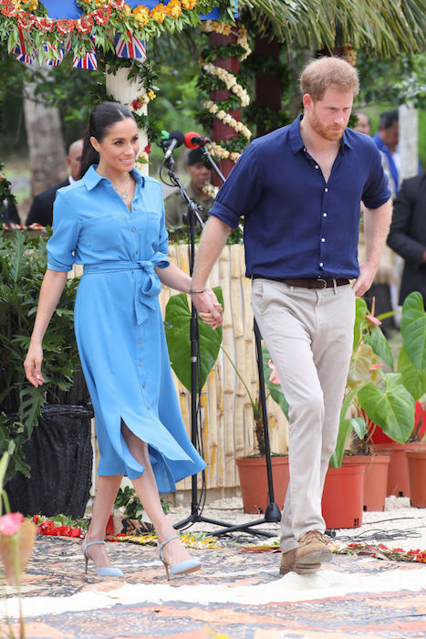 Meghan and Harry had a flight scare after leaving Tonga Photo C GETTY