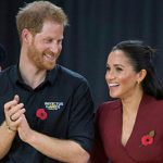 Meghan and Harry have presented the gold medals to the winners of Team USA Image Getty
