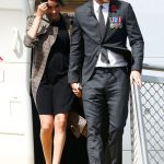 Meghan and Harry touch down in New Zealand Image Getty