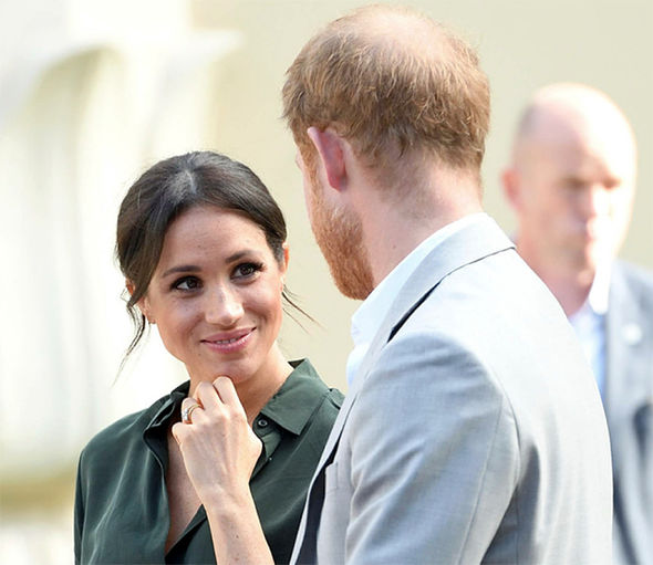 Meghan and Harry will attend a staggering 56 engagements over the 16-day tour (Image GETTY)