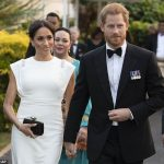 Meghan has been given the nickname Di 2 by members of the royal household sources say Meghan is pictured wearing Dianas aquamarine ring at an evening reception in Tonga on Thursday night