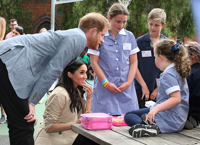 Meghan Markle gifted her first tiara during royal tour of Australia VIDEO Photo C GETTY