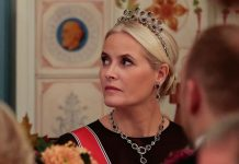 Mette Marit looks glam at first royal engagement after lung diagnosis Photo C GETTY