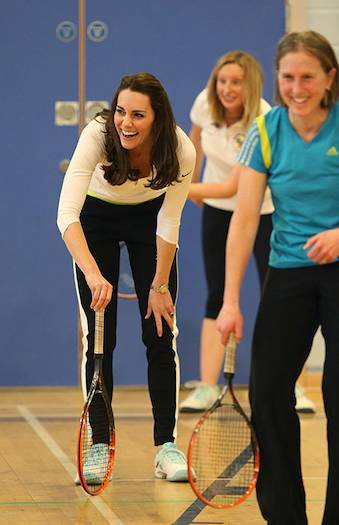 Need more evidence that Kate loves sport Check out her best sporting moments here Photo C GETTY