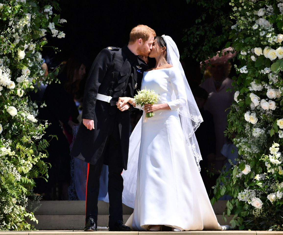 One thing nearly threatened to ruin Prince Harry and Meghan Markle's wedding day Photo Getty Images