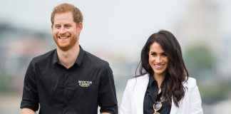 Palace shares first behind the scenes royal tour photo of Harry and Meghan – and its the cutest Photo C GETTY