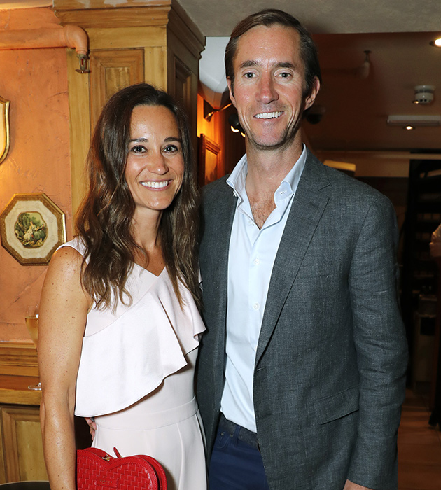 Pippa Middleton and James Matthews have confirmed the birth of their first child Photo C GETTY