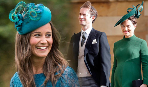 Pippa Middleton has welcomed a baby boy Image GETTY
