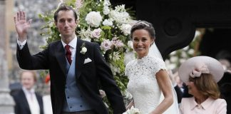 Pippa Middleton married James Matthews in May 2016 Image GETTY