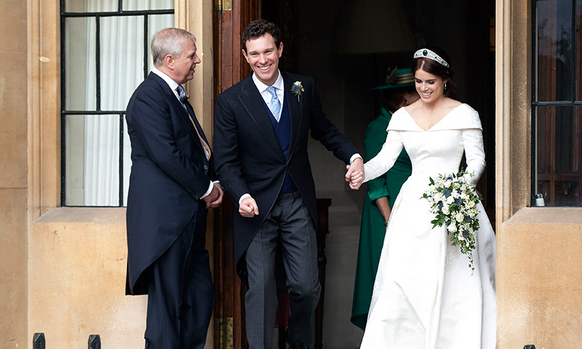 Prince Andrew welcomes Jack Brooksbank into the family with very official nod Photo C GETTY