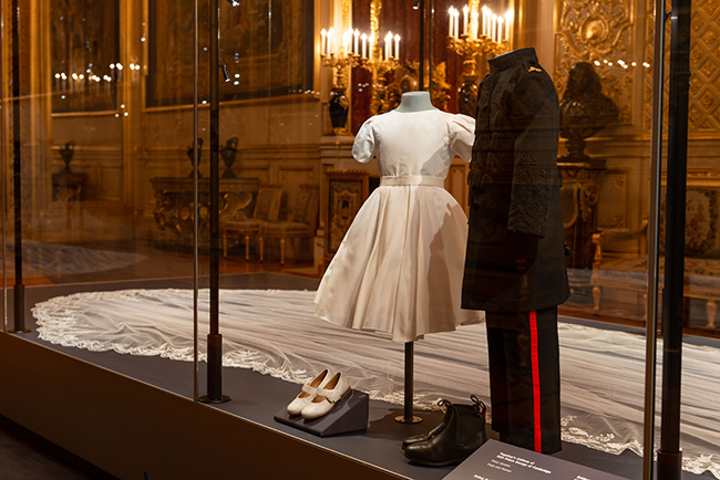 Prince George and Princess Charlottes wedding outfits Photo C GETTY