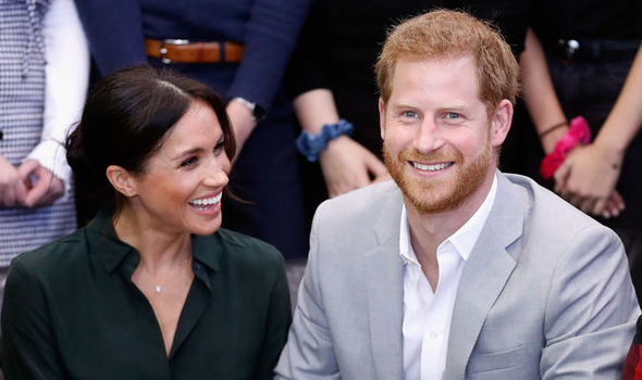 """Prince Harry """"wants a baby"""" says etiquette expert Liz Brewer Image GETTY"""