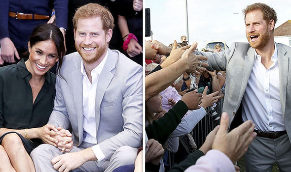 Prince Harry and Meghan Markle head to Sussex for first official joint visit (Image GETTY)