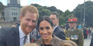 Prince Harry and Meghan Markle left Sophie Hubbard and Hope Watson both 10 grinning from ear to ear after posing for a snap with them
