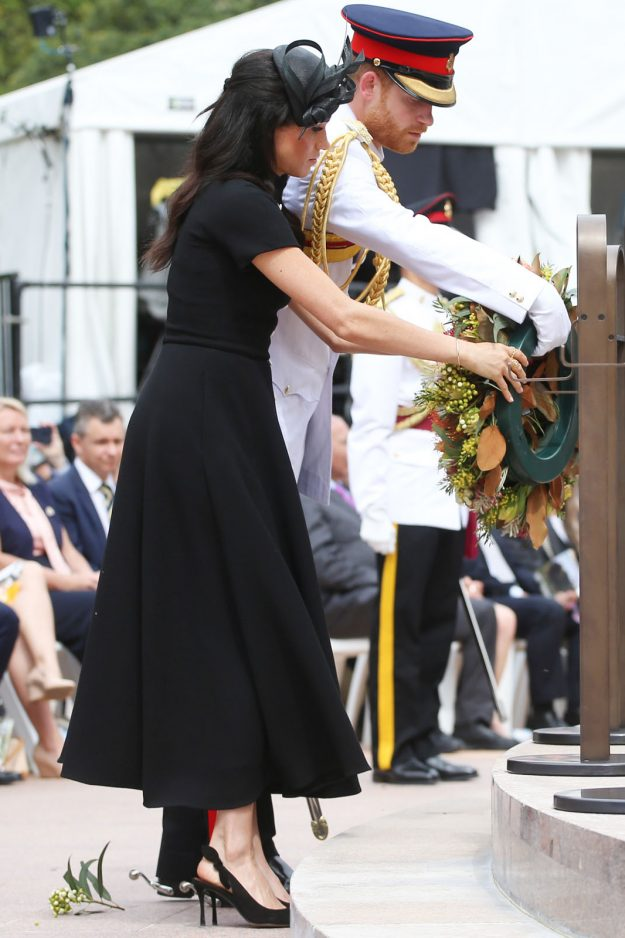 Prince Harry and Meghan looked impeccable Getty