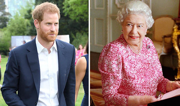 Prince Harry baby What did the Queen give Harry HOURS before royal baby announcement Image GETTY