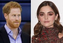 "Prince Harry had an ""awkward"" meeting with Jenna Coleman it has been claimed Image GETTY"