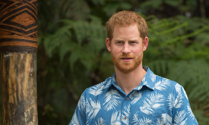 Prince Harry told of shocking moment Prince Philip broke protocol in Fiji Photo C GETTY