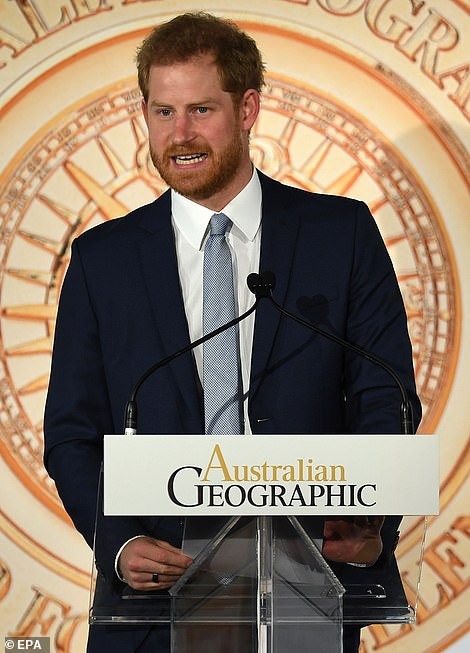 Prince Harry warned We cannot stand by and let our wildlife disappear from the earth