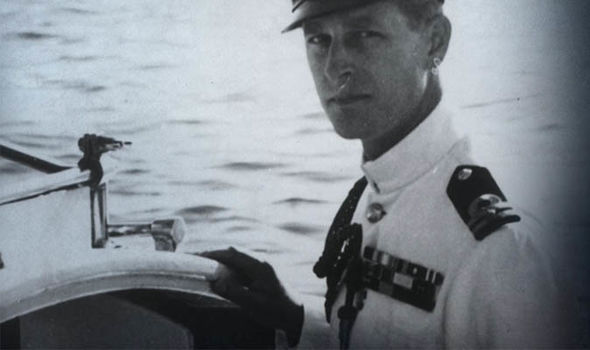 Prince Philip had a successful naval career before King George VIs death Image CHANNEL 4