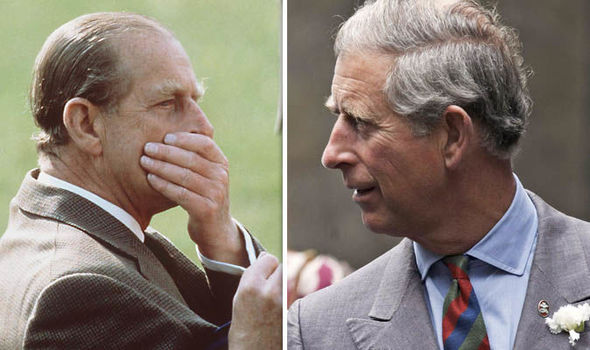 Prince Philip was left in dismay by Charles rebellious act in 1999 Image GETTY