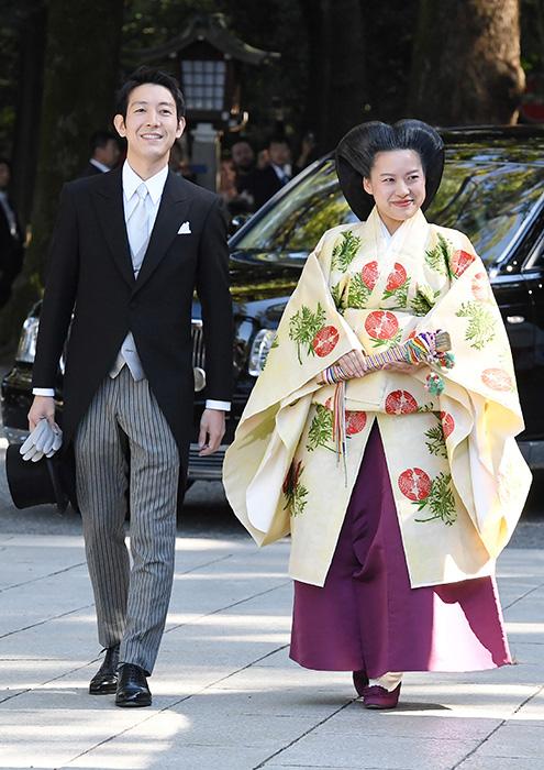 Princess Ayako has married Kei Moriya Photo C GETTY IMAGES