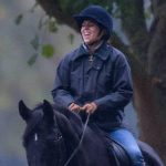 Princess Beatrice was pictured laughing during a horse ride with Fergie and Andrew Image KELVIN BRUCE