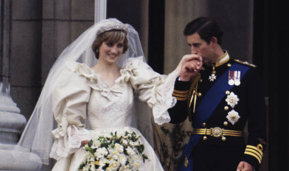 Princess Diana and Charles married in 1981 at St Pauls cathedral Image GETTY