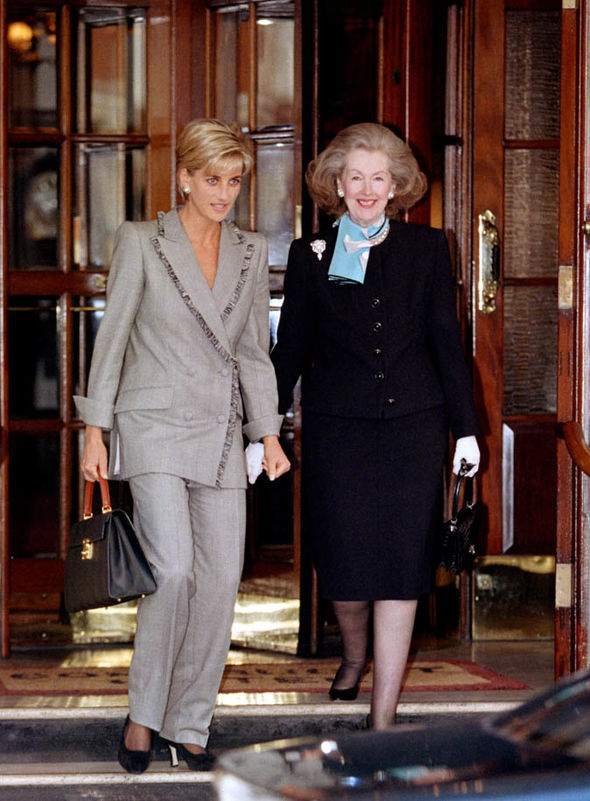 Princess Diana and Raine Spencer reconciled prior to the Princess death Image GETTY