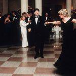 Princess Diana dancing with John Travolta Image GETTY