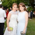 Princess Eugenie, 28, has chosen her older sister Princess Beatrice, 30, as has her maid of honour, whereas Meghan chose not to have a maid of honour at all. Photo Getty