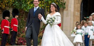 Princess Eugenie new title The happy couple tied the knot at Windsor Castle Image GETTY