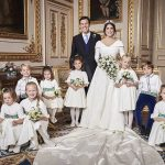 Princess Eugenie official photos Eugenie and Jack posed with their wedding party Image PA