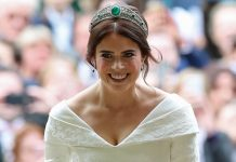 Princess Eugenie paid tribute to the Queen with her gorgeous wedding shoes Photo C GETTY